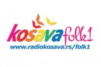 Košava Folk 1 Radio logo